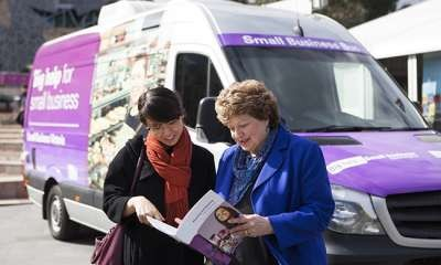 Small Business Mentoring Bus - Mooroopna